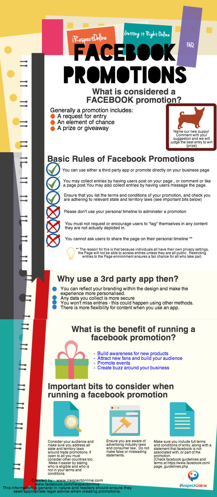 facebook promotions by irespectonline