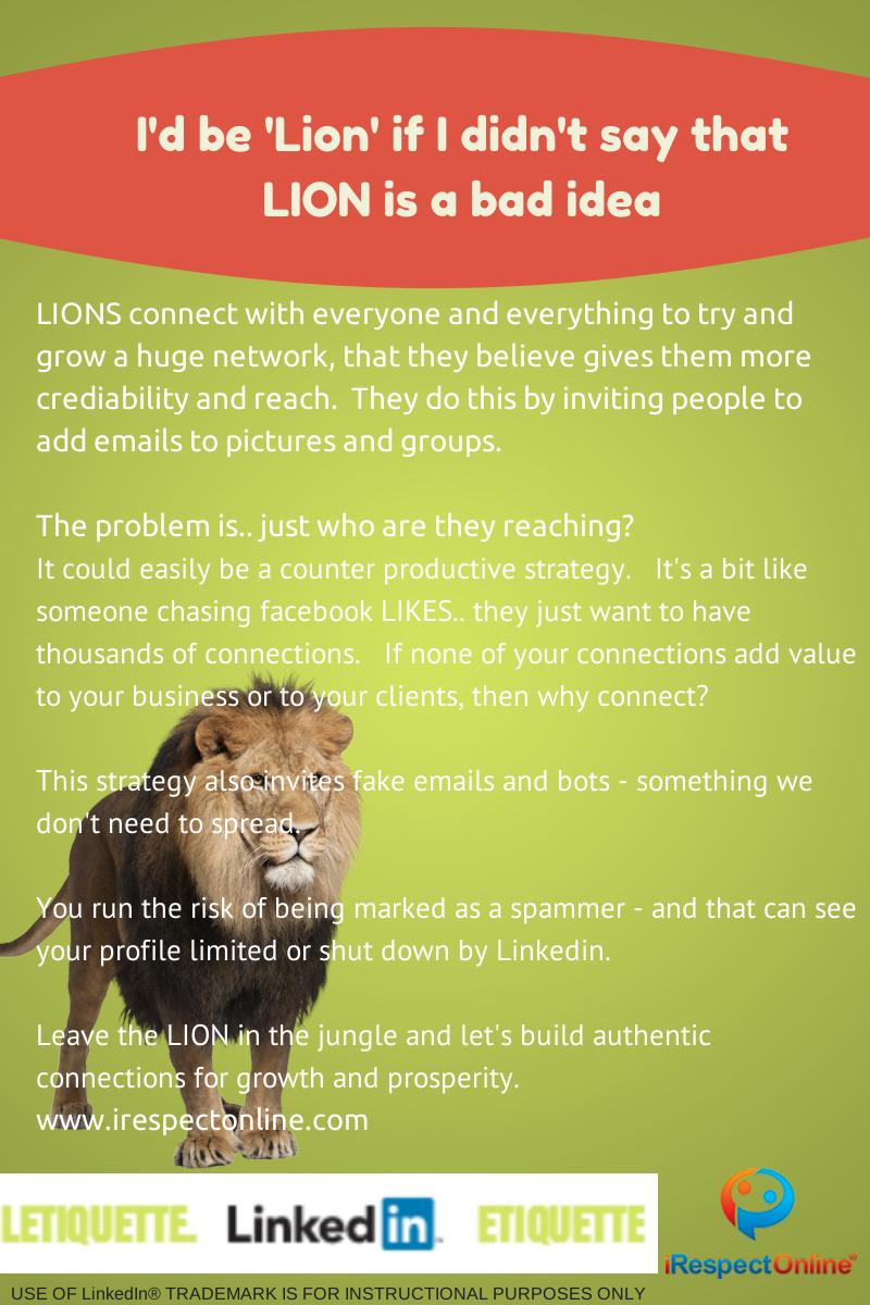 LION letiquette