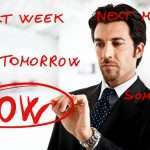 Procrastination and the getting around to it