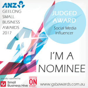 small business awards Geelong nominee